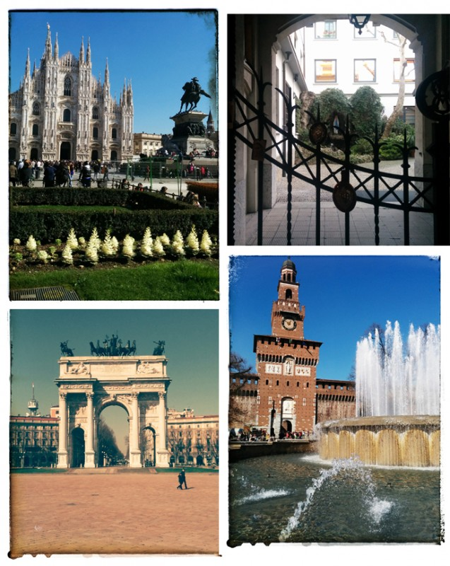 Various sights from my day of Milan meandering.