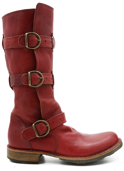 Fiorentini Baker Eternity Boot 7040 In Red Ped Shoes