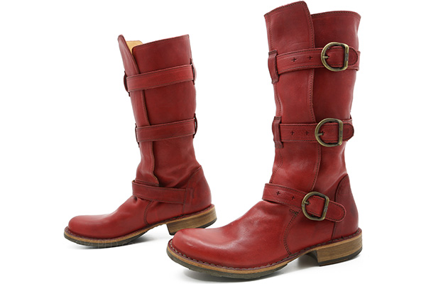 fiorentini baker eternity boot 7040 in red ped shoes. Black Bedroom Furniture Sets. Home Design Ideas