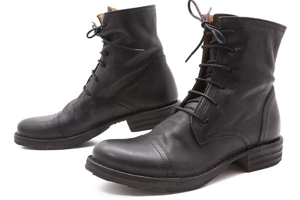 Fiorentini And Baker Elios In Nero Black Ped Shoes