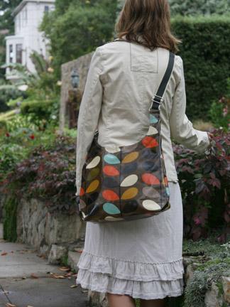 Orla Kiely Dark Multi Stem Sling Bag in Dark Multi   Ped Shoes ... 9b459a9ee3cf1