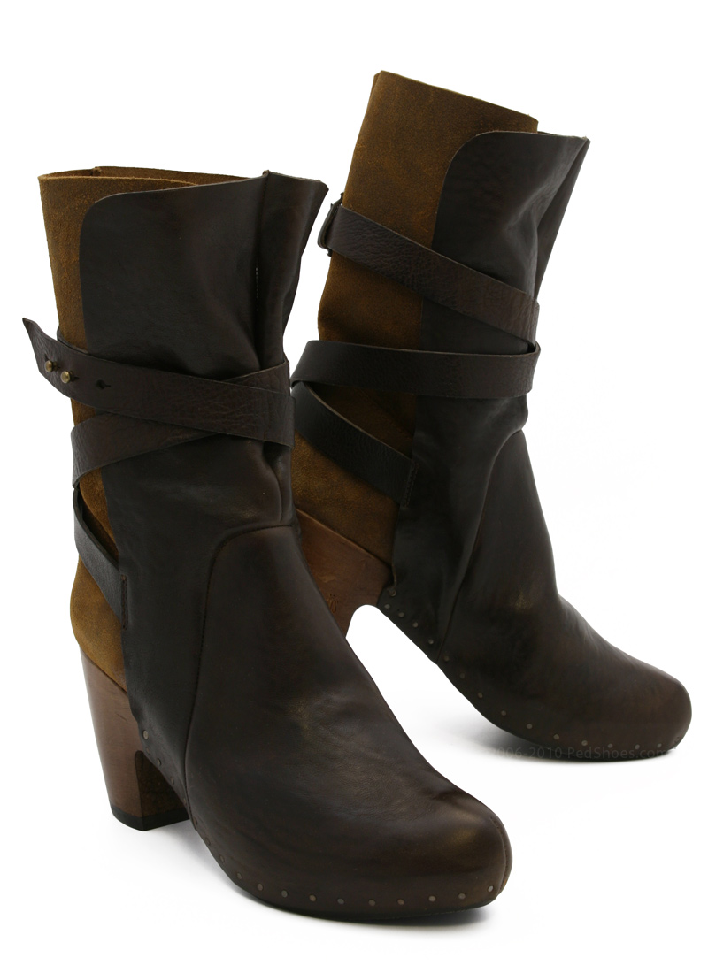 253bdd770cae72 Vialis Barceloneta Boot in Chocolate Brown : Ped Shoes - Order online or  866.700.SHOE (7463).