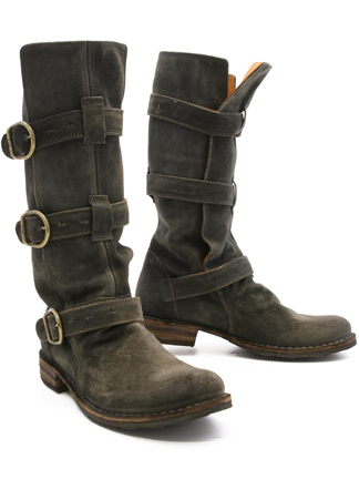 Fiorentini Baker Eternity Boot 7040 In Grey Suede