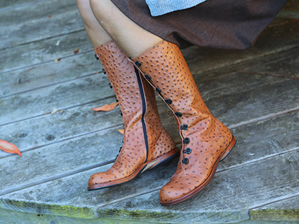 904a689fcb7 Cydwoq Mountain in Caramel Brown   Ped Shoes - Order online or ...