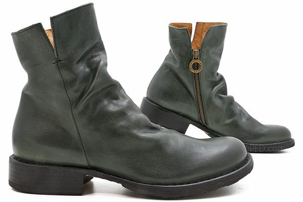 Baker Elf Leather in Bottiglia Green