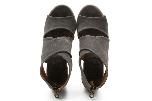 Pep Monjo Olivia 838 In Grey Suede Ped Shoes Order
