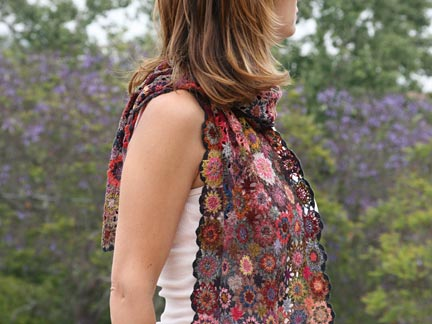 Sophie Digard Edelweiss Scarf In Multi Ped Shoes Order
