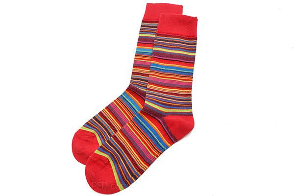 Mia Zia Rayure Socks at Pedshoes.com