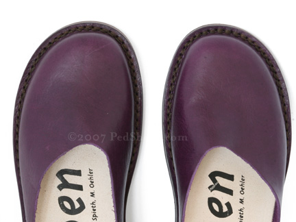 Trippen Donna In Lila Plum Ped Shoes Order Online Or